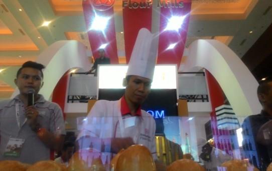 Icip-icip & baking demo di Booth Bungasari