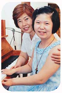 Hee Ah dan Ibunya Woo Kap Sun