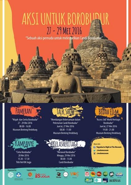 Wisata Edukasi Cara Merawat Candi Borobudur