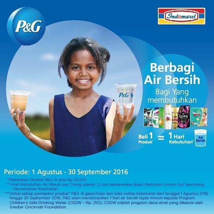 #PGBerbagiAsa: Program Air Bersih untuk Anak Indonesia