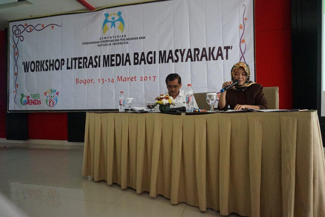 Literasi Media bersama Kementerian Pemberdayaan Perempuan dan Perlindungan Anak