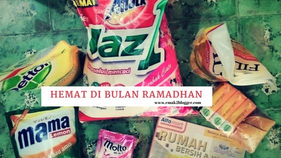 Hemat di Bulan Ramadhan