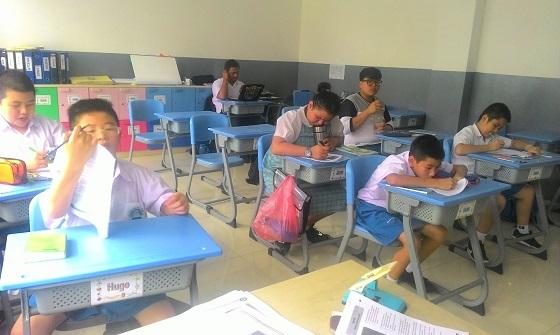 Susana Belajar di Sekolah Swasta