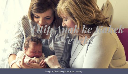 Menitipkan Anak ke Kakek Nenek