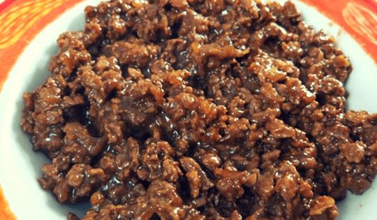 Variasi Makanan dari Daging Sapi CIncang