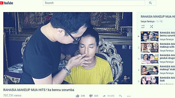 Yuk, Belajar Makeup Sendiri Langsung dari MakeUp Artist Hits di YouTube