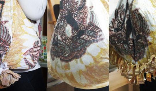 3 Gaya Tas Belanja dari T-Shirt yang Mudah Dibuat Sendiri