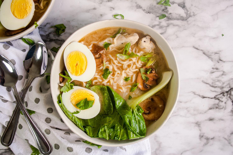 Resep Masakan Jepang: Miso Chicken Ramen
