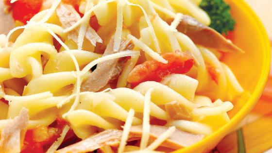 Resep Pasta Fusili Tuna