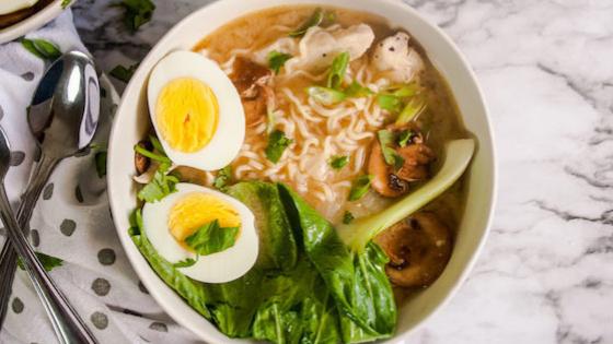 esep Masakan Jepang: Miso Chicken Ramen