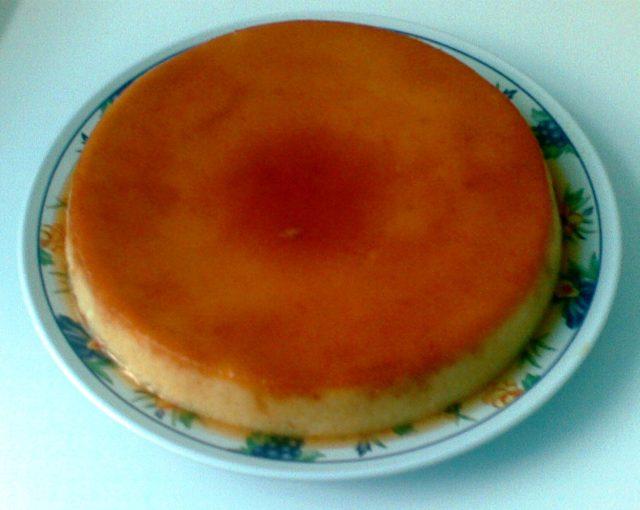 Resep Puding Roti Pisang Karamel