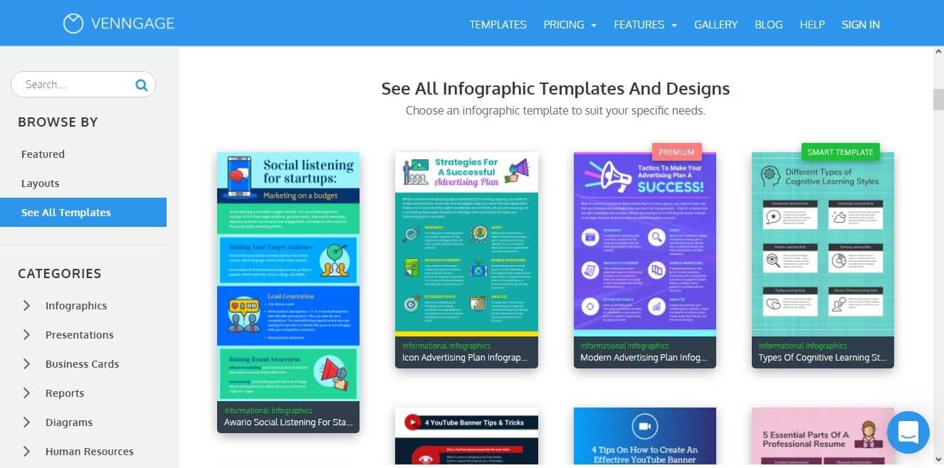 10 Tool untuk Membuat Infografis Keren Online dan Gratis