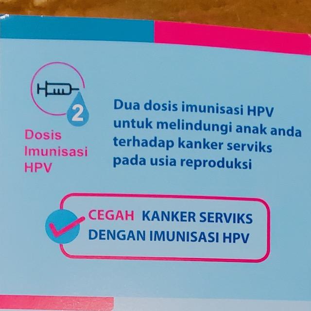 Imunisasi HPV: Dua Dosis untuk Melindungi Anak Perempuan Kita