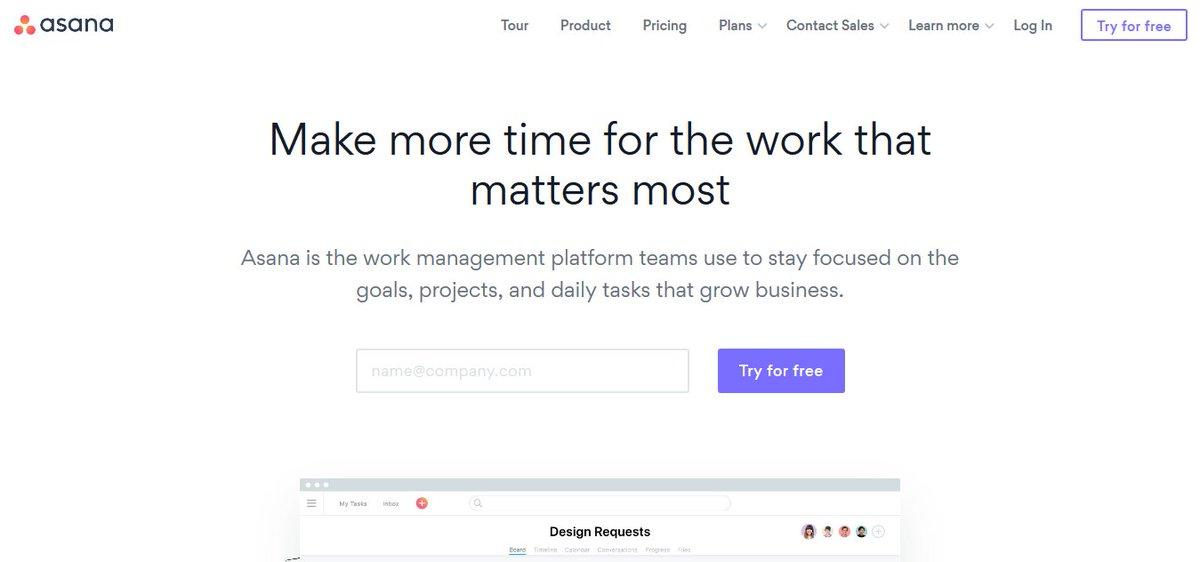 tool meningkatkan produktivitas - asana