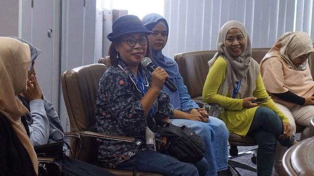 Perempuan Berdaya Era Digital di KEB Intimate