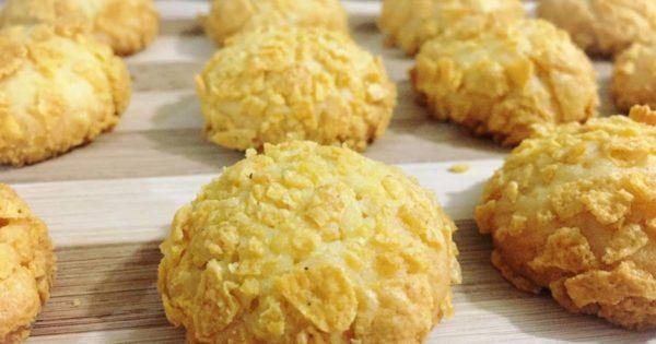 kue cornflakes