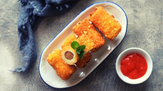 Resep Roti Goreng Isi Sosis Keju