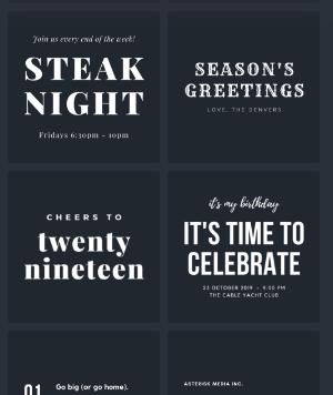 Cara menggunakan Canva: font pairing