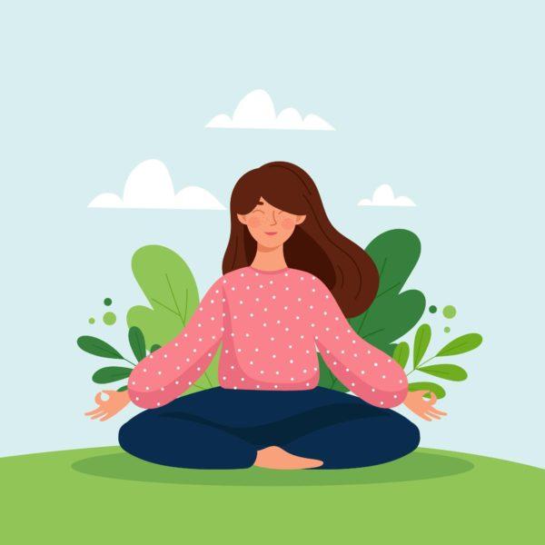 Kebiasaan agar produktif dengan meditasi